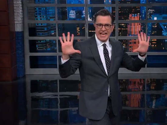 Colbert Dunks Hard on Complaint by Reporter That Impeachment Hearing Needed 'Pizzazz' (Video)
