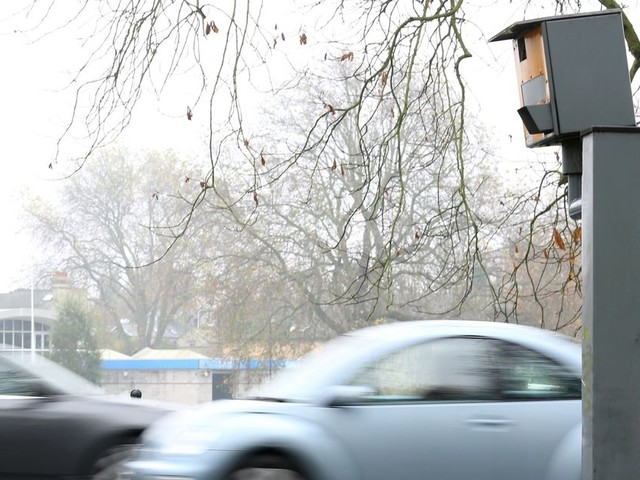 Only one in four speed cameras in Greater Manchester is actually switched on