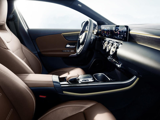Mercedes-Benz showcases new A-Class's 'luxury' interior