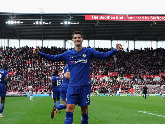 Clinical Chelsea put four past Stoke City at fortress Britannia