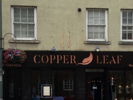 Dining experience at Copper Leaf, Hampton Wick