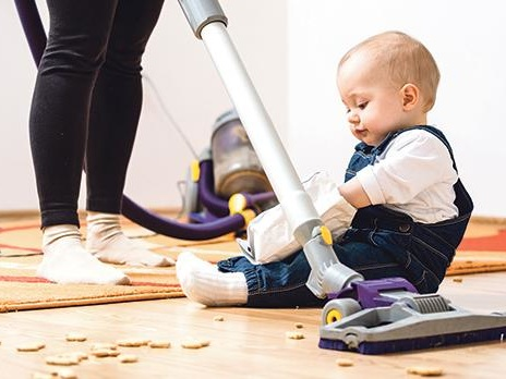 Vacuuming and scrubbing the floor 'can help you live longer'