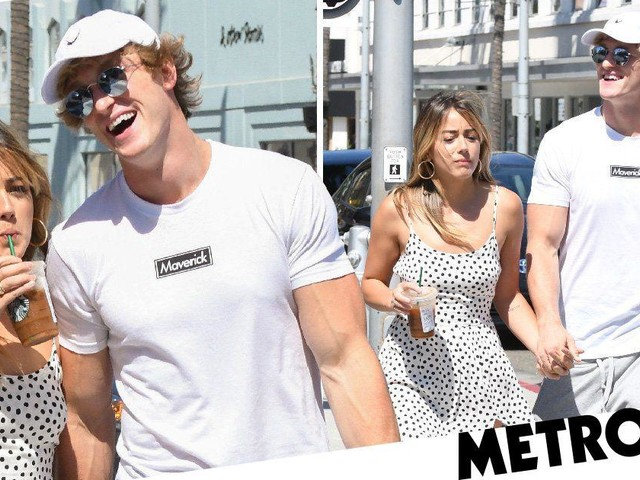 Did Logan Paul lie about dating Agents of S.H.I.E.L.D. star Chloe Bennett? YouTuber spotted with actress