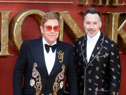 Sir Elton John and David Furnish to host YouTube Pride 2021