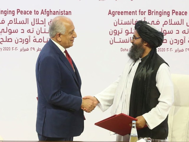 US signs historic deal with Taliban that could bring an end to America's war in Afghanistan