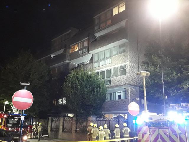 Islington fire: Woman and three children evacuated from north London flat blaze