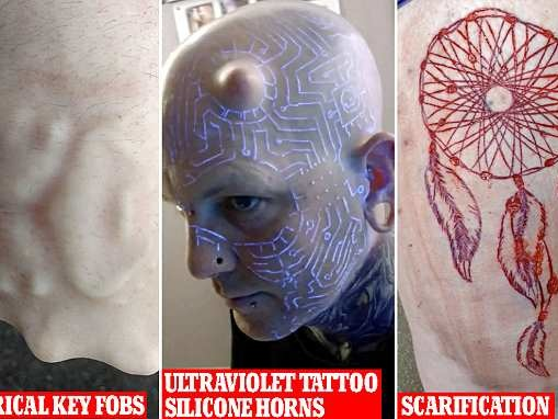 Vancouver 'transhumanist' has over 100 body modifications