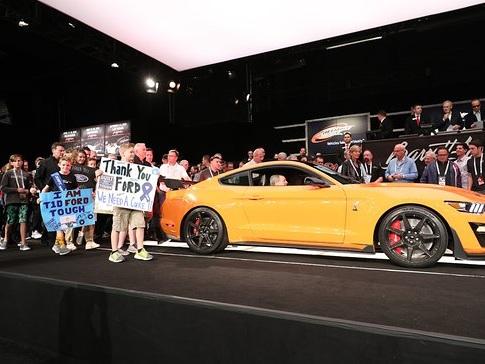 Barrett-Jackson Car Auction Raises a Record $9.6 Million for Charity