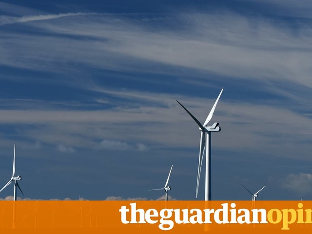 It's true, wind turbines are monstrous. But I have learned to love them   Alice O'Keeffe