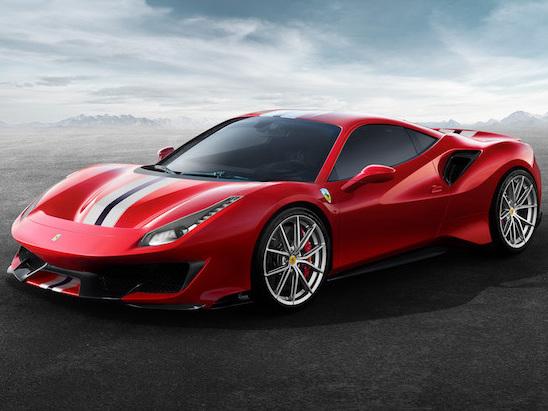 Ferrari 488 Pista Lands With 710 HP Race Derived V8