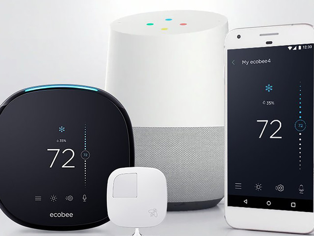 Ecobee thermostats can now be voice-controlled via Google Assistant