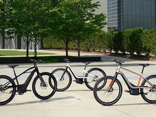 Harley Davidson unveiled its first-ever battery-powered electric BICYCLE with pedal assist