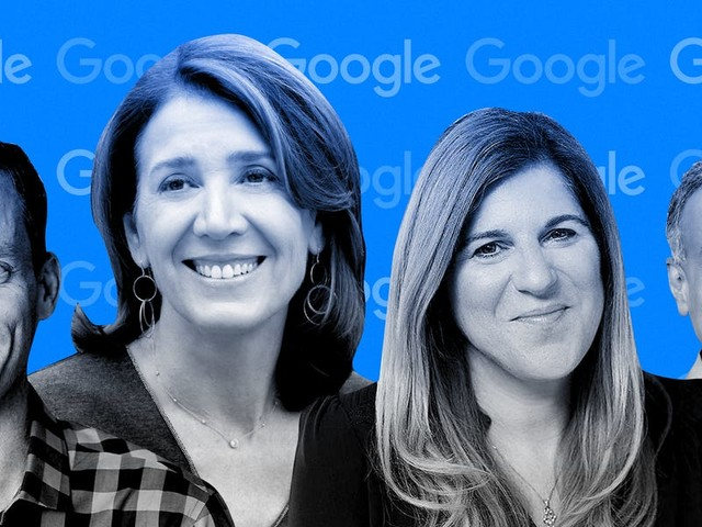 Meet the 15 Google execs who report to CEO Sundar Pichai and are leading the internet company's most critical businesses (GOOG, GOOGL)