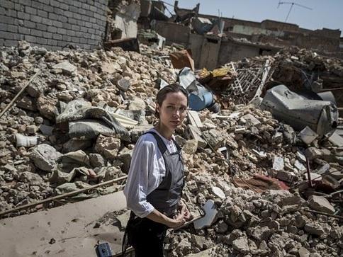 Angelina Jolie Visits West Mosul