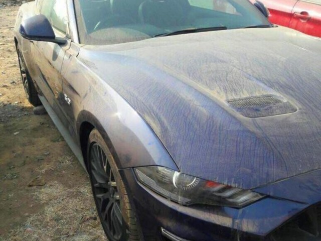 2018 Ford Mustang GT Spotted In India Ahead Of Impending Launch