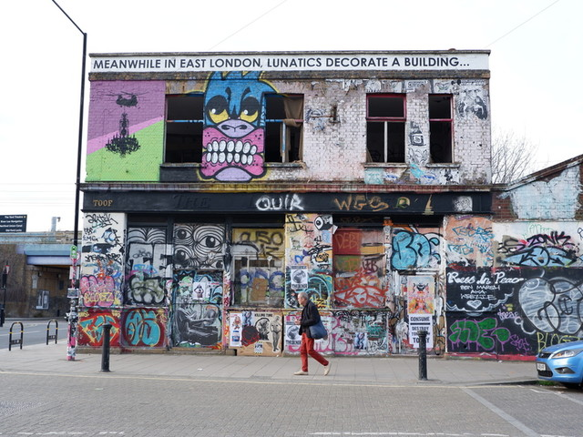 Hackney Wick's Famous 'Graffiti Building' Is About To Change