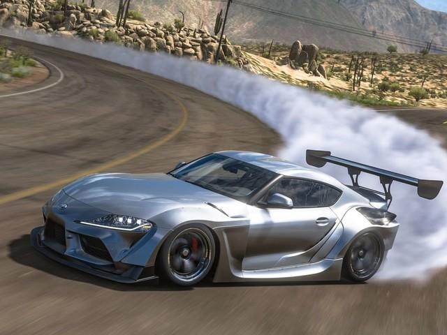 Widebody Toyota Supras Look Smokin' Hot in Virtual Forza Horizon 5 Preview