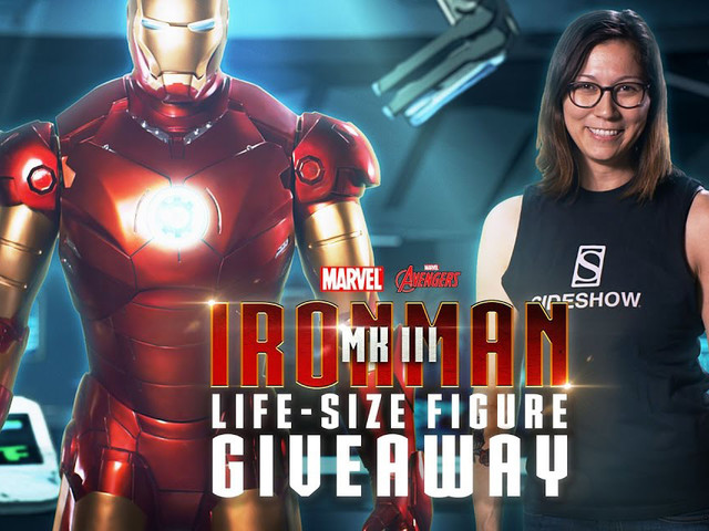 You Can Win A Life-Size Iron Man Figure