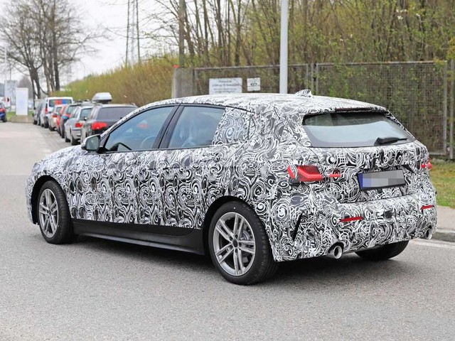 New 2019 BMW 1 Series: latest spyshots and full range breakdown