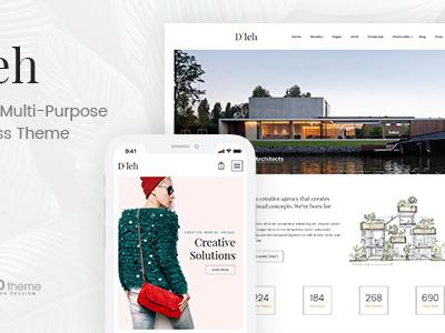 D'leh - Creative Multi-Purpose WordPress Theme (Creative)