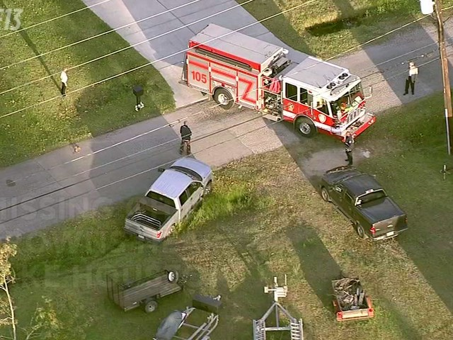 Child drowns after wandering from home near Lake Houston