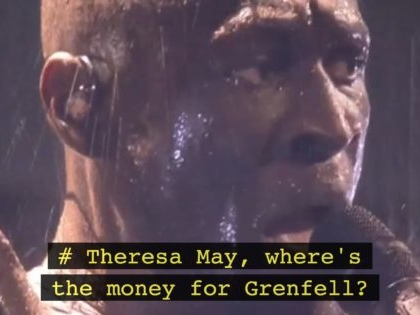 Watch: Stormzy raps Theresa May over Grenfell in emotional Brit awards performance