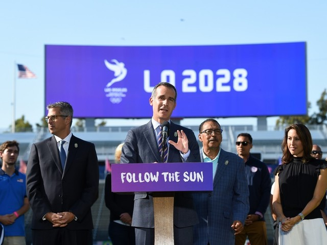 Garcetti promises Los Angeles 2028 will propel Olympic Movement into new era