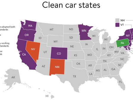Minnesota becomes latest state to adopt California clean car standards