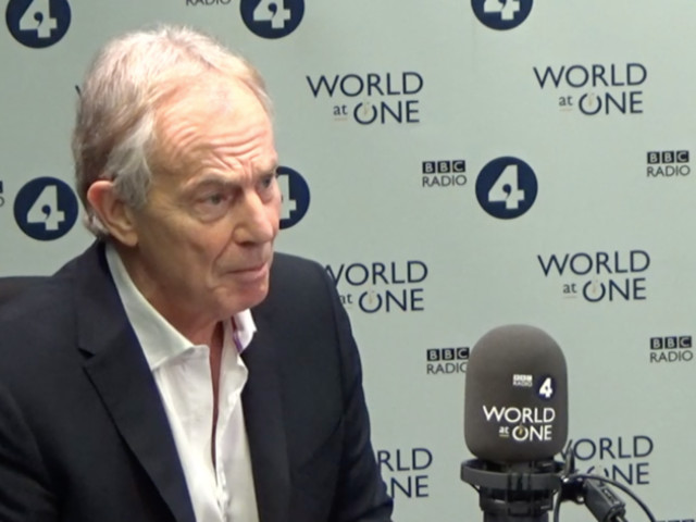 Tony Blair Says He's Working To Reverse Brexit: 'It's Not Done Until It's Done'