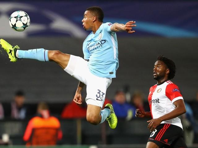 Man City's Gabriel Jesus nominated for Golden Boy award