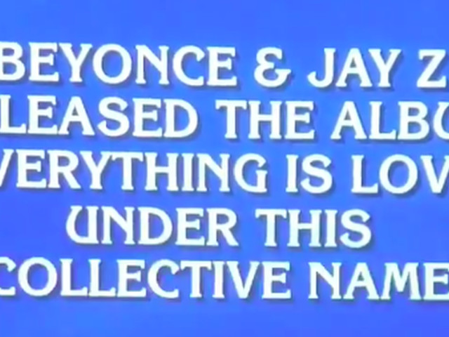 'Jeopardy' contestant hilariously botched a question about Beyoncé and Jay-Z