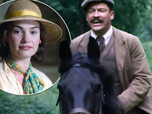 The Pursuit Of Love viewers say it's 'weird' watching Dominic West play co-star Lily James' FATHER
