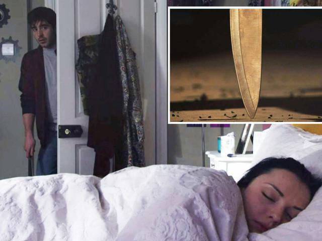EastEnders horror as Leo tries to stab Whitney in her sleep before being disturbed