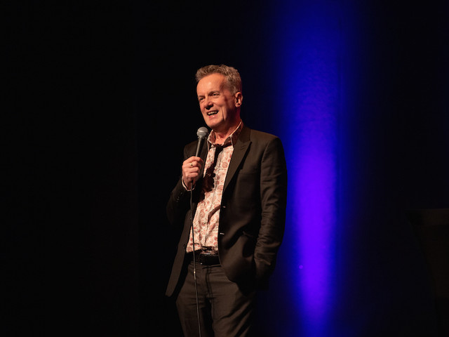 Frank Skinner At Garrick Theatre: Showbiz Revelations From A Comedy Great