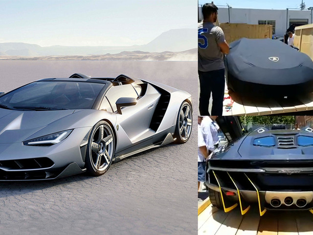 Lamborghini Centenario Roadster Unboxing Video Is Oddly Satisfying