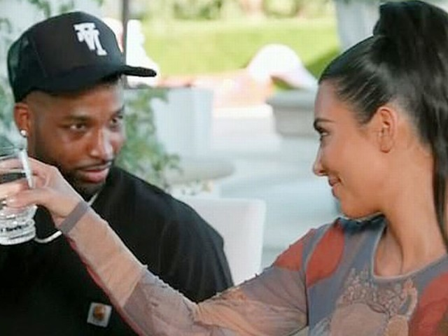 Kim Kardashian sends sweet message to Tristan Thompson after their bitter feud