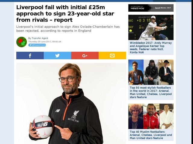 Liverpool fail with initial £25m approach to sign 23-year-old star from rivals – report