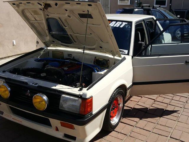 Buy It! This Mitsubishi Lancer Is Powered by a Turbo AMG Engine
