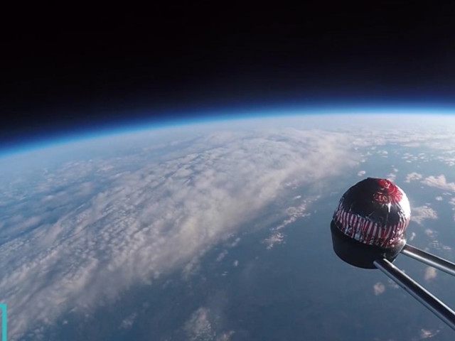 Tunnock's Teacake Launched Into Space By Glasgow Science Centre