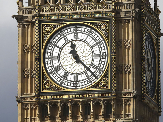 Big Ben Chimes For The Final Time Before It's Silenced For Four Year Maintenance Project