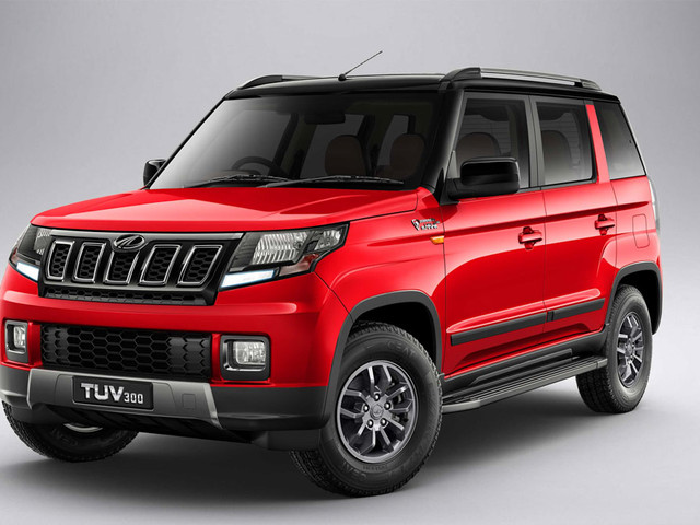 2019 Mahindra TUV300 Facelift Launched In India At Rs. 8.38 Lakh