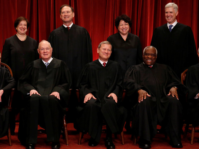 The Supreme Court Posed For Its First 'Class' Photo Since Justice Scalia's Death