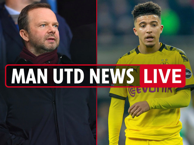 10pm Man Utd news LIVE: Jadon Sancho 'agrees five-year deal', Solskjaer pushing Woodward for deals, Pereira row