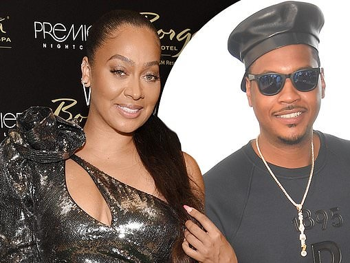 La La Anthony says hubby Carmelo 'sent me some nice gifts' after they spent her birthday apart