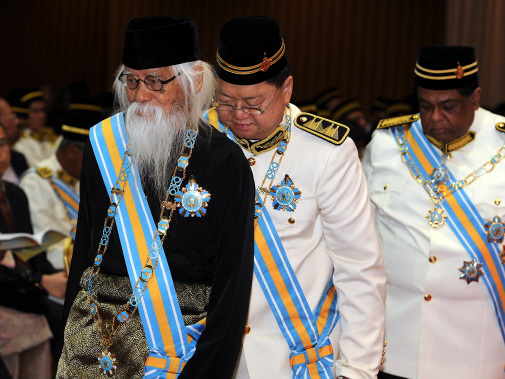 Recipients of Penang state honours, medals reminded to observe decorum