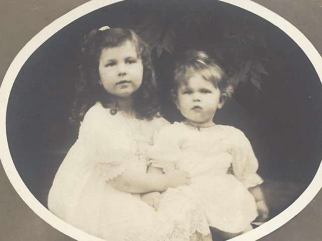 Two sisters - Grand Duchesses Maria and Kira of Russia