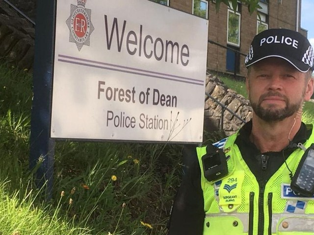 Police force ditches helmets for caps - but not everyone's a fan