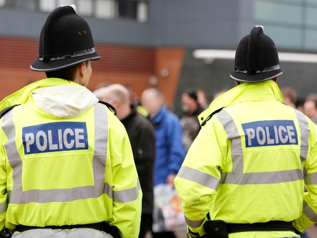 Police officers are 'breaking' because of Theresa May