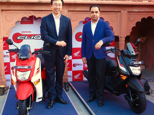 Honda Cliq Scooter Launched In India, Prices Start At INR 42,499