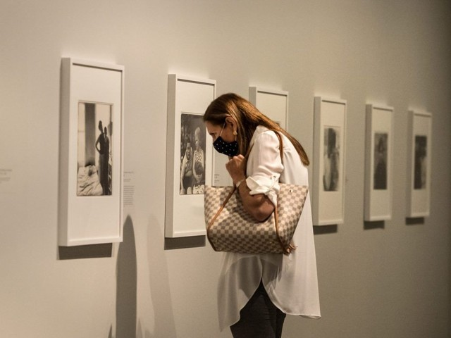New Diane Arbus exhibit, closed off due to the pandemic, is finally unmasked